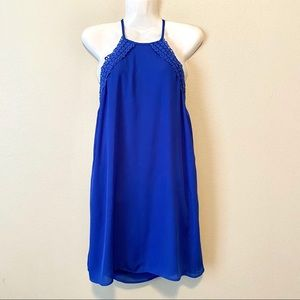 B DARLIN Royal Blue Cocktail Dress